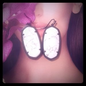Kendra Scott Howlite Danille Earrings